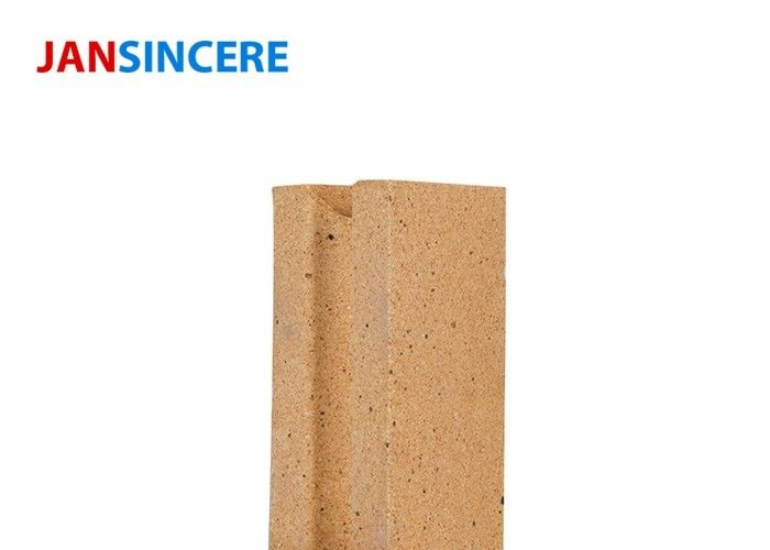 Heating Boiler Unfired Fire Clay Bricks Al2O3 Content 30 - 48% Good Thermal Stability